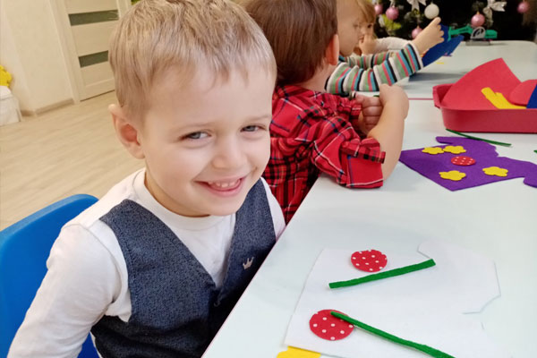 Развивающие занятия в детском садике ШКЕТ